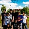 Foerster, KOS, unbekannter Dude aus Kiel, Mc Robsen, EMZUDEMO, Emtec, Sitntwist & Stigma