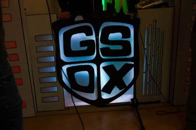 Glow G.S.O.X. Porno Logo