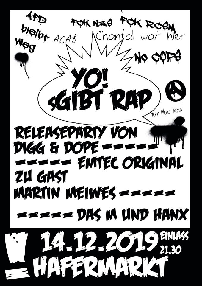Yo! sGibt Rap - Doppelreleaseparty